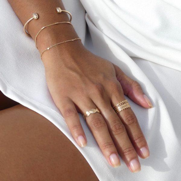 Bague Ana - Boutique bijou mode femme Cénélia Martinique