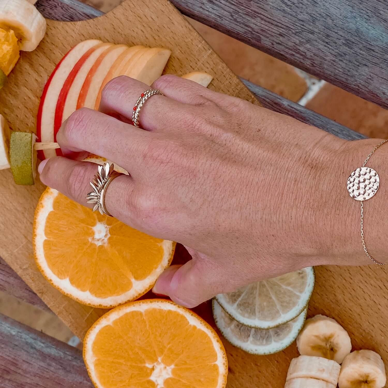 Bague Karen - Bracelet Micheline - Cénélia