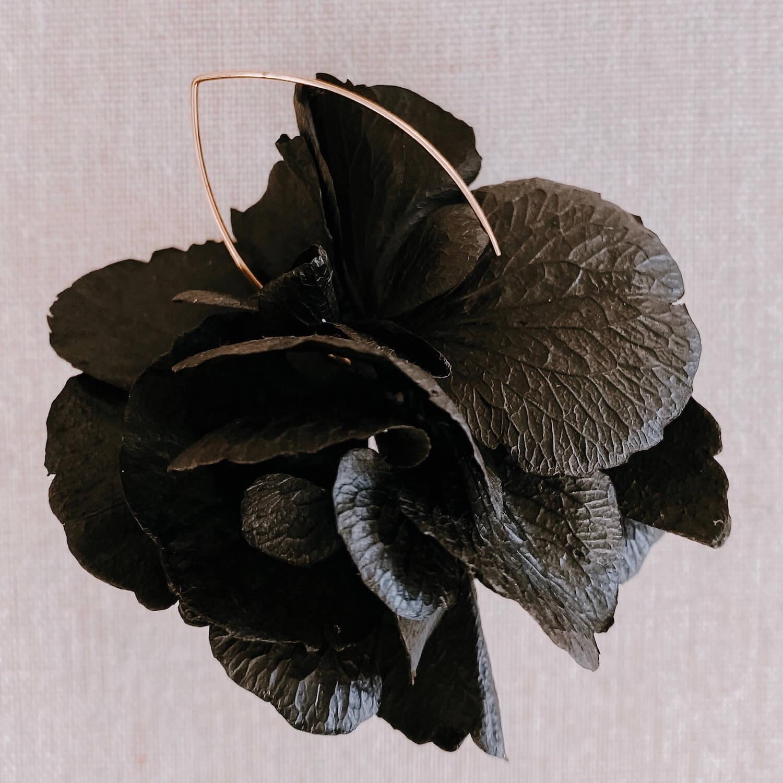 Boucles Aves - boucle d oreille en fleurs Martinique Cénélia