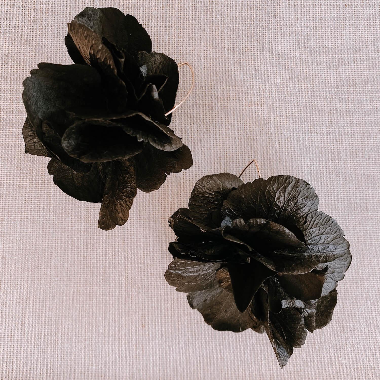 Boucles Aves - boucle d oreille fleurs Martinique Cénélia
