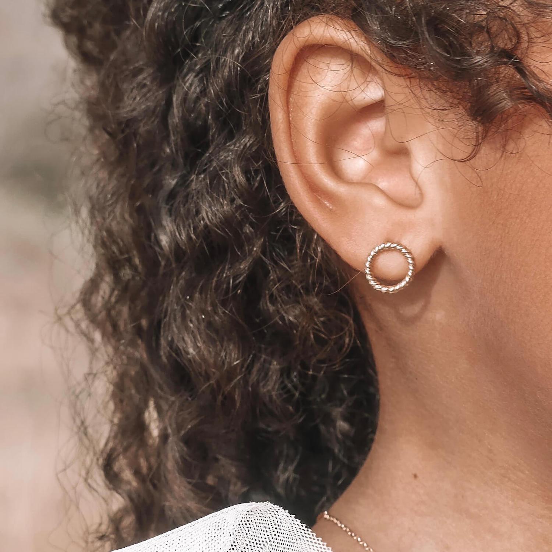 Boucles Claire - boucles d oreilles fille Cénélia