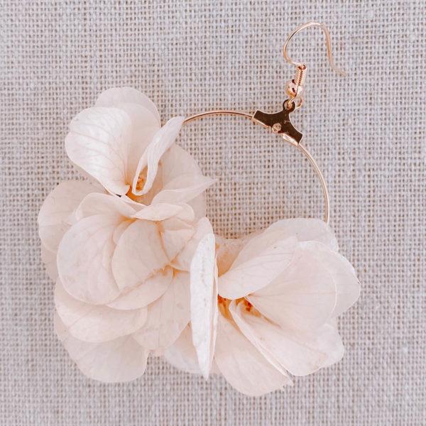 Boucles Saba - boucle d oreille en fleur Martinique - Cénélia
