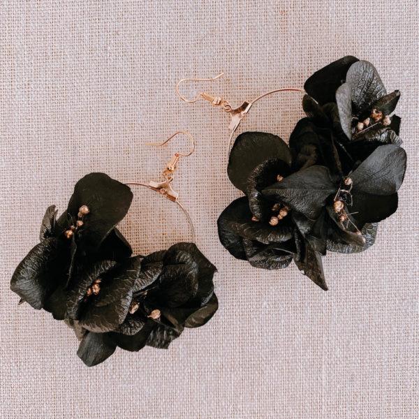Boucles Trinité - boucle d'oreille fleur Martinique Cénélia