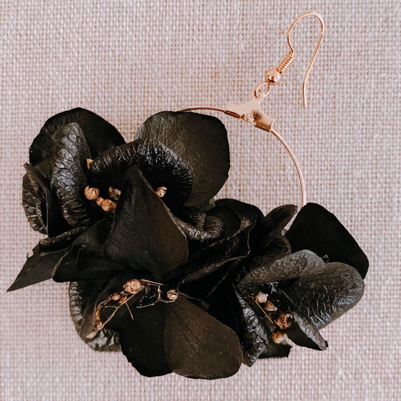 Boucles Trinité - boucle d'oreille fleur - Martinique Cénélia