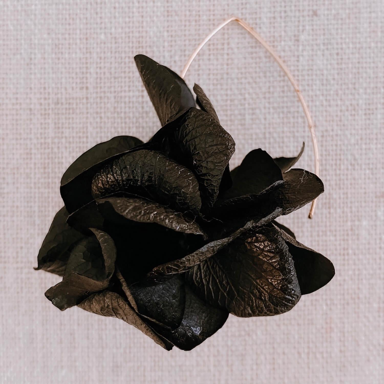 Boucles Union - boucles d oreilles en vraies fleurs stabilisées Martinique - Cénélia