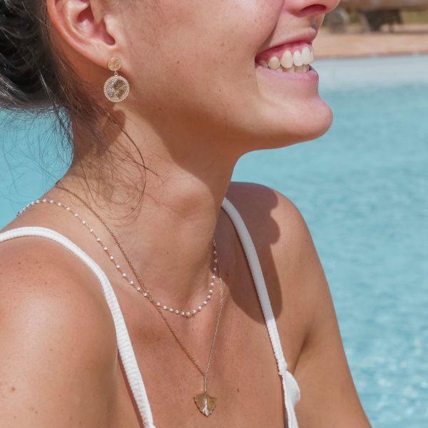 Boucles d oreilles Cénélia Martinique - Ilona