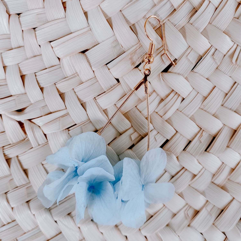 Boucles fleurs Galisbay - Cénélia