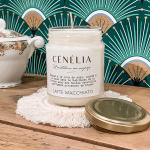 Bougie parfumée Cénélia - Latte Macchiato