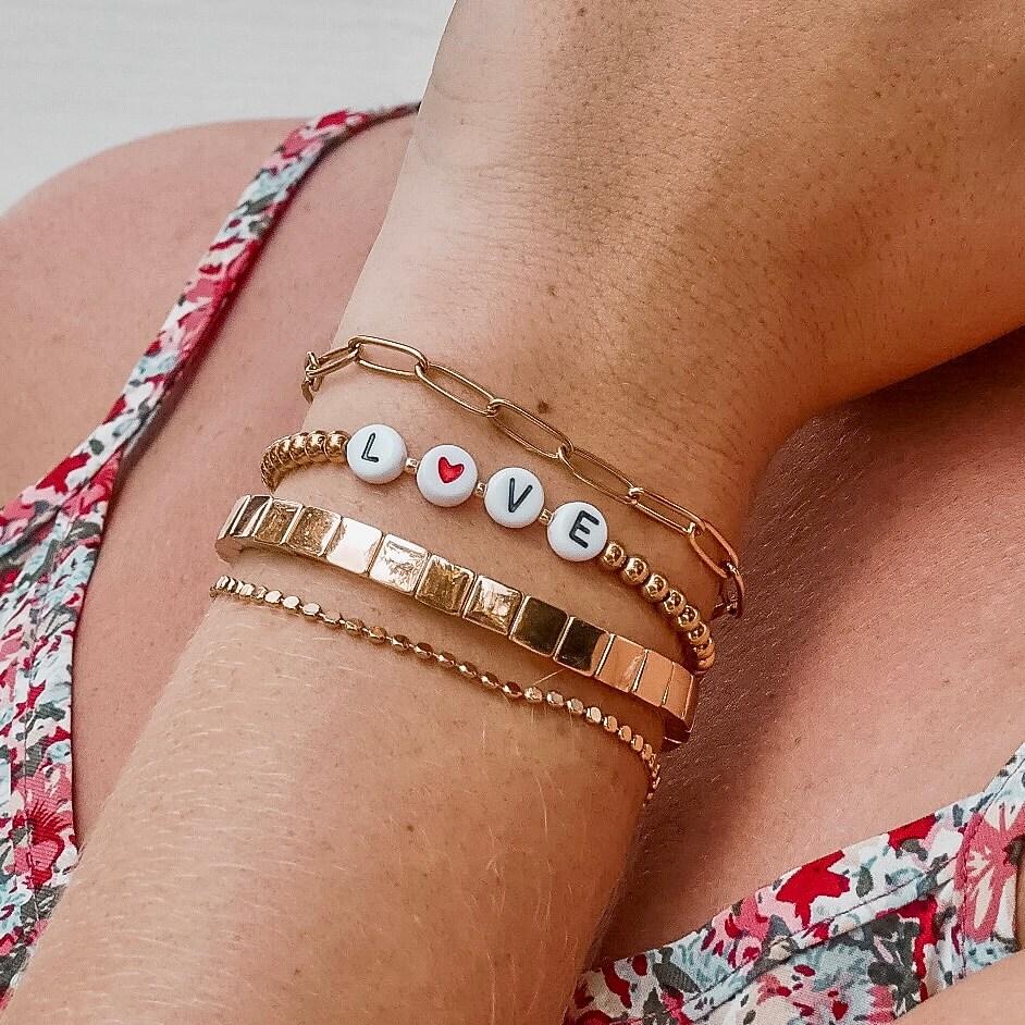 Bracelet Cénélia - Bracelet acier femme