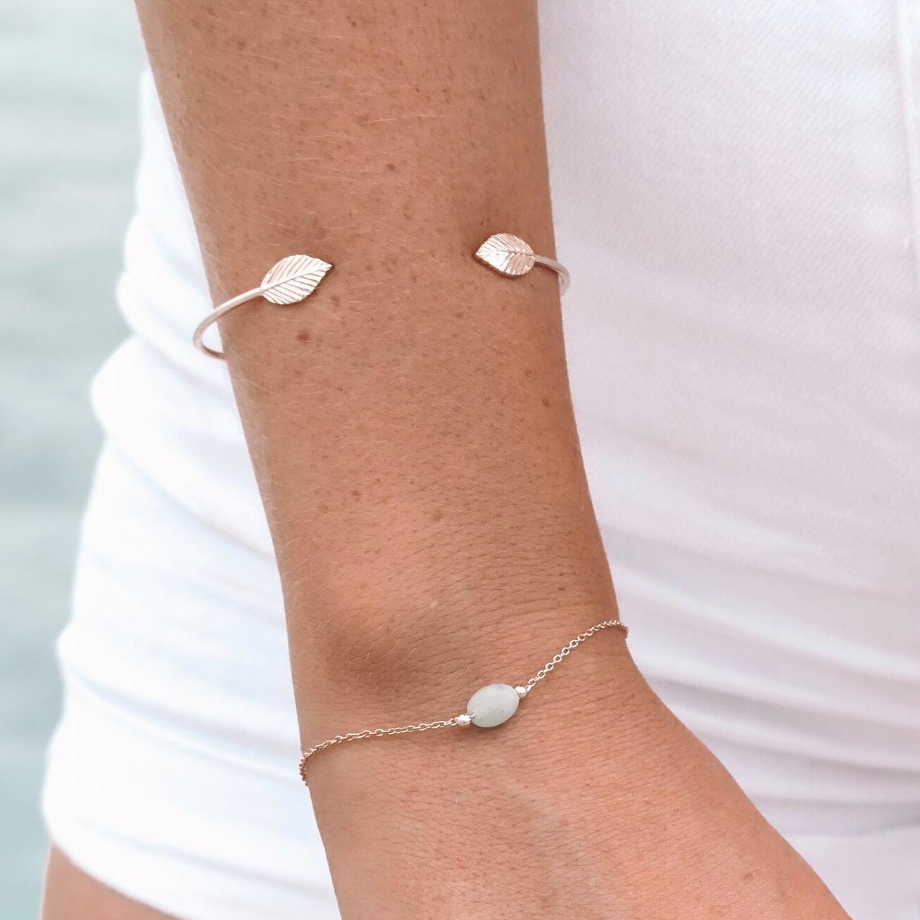 Bracelet Emma amazonite - Bijou Cénélia