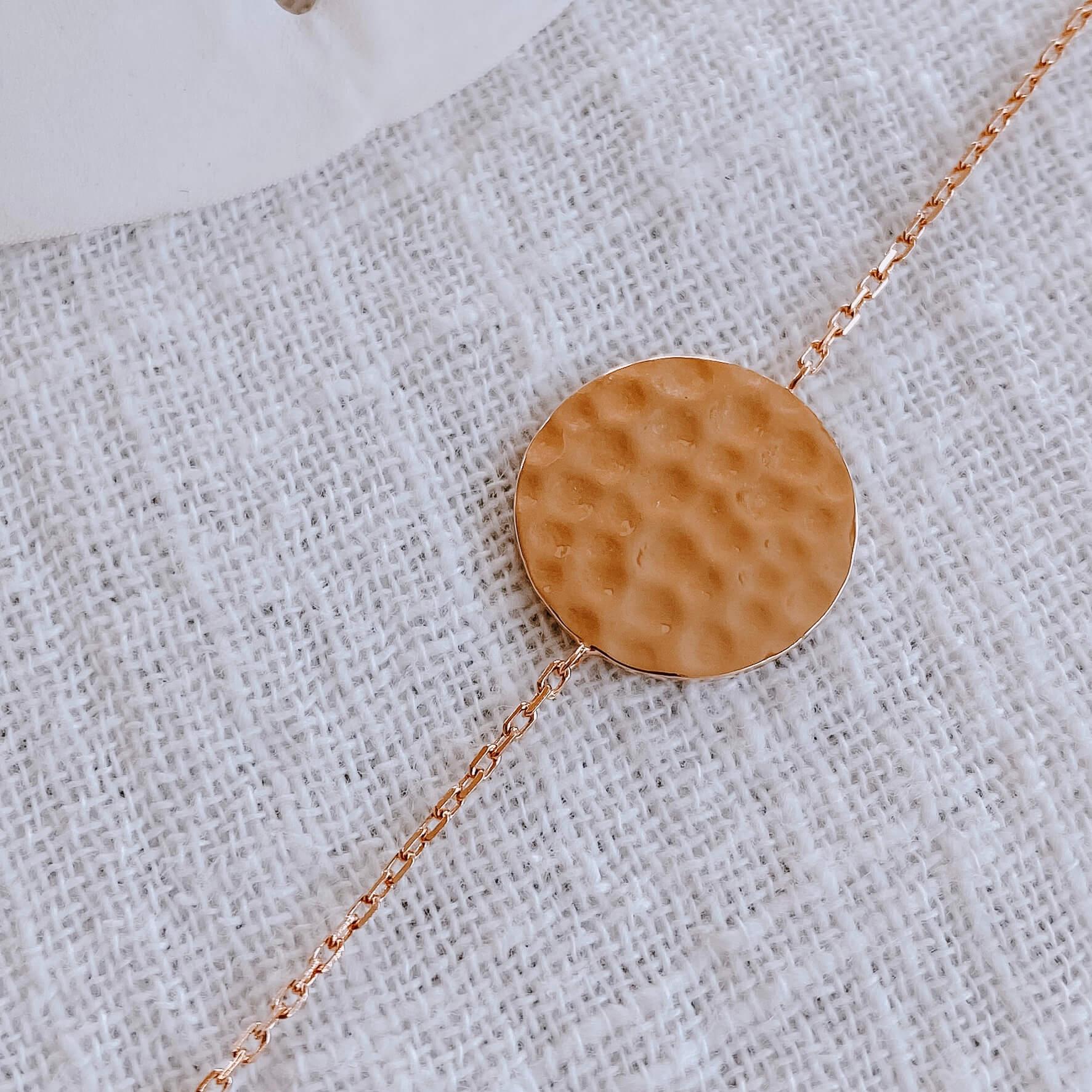 Bracelet Micheline - Bracelet femme plaqué or Cénélia