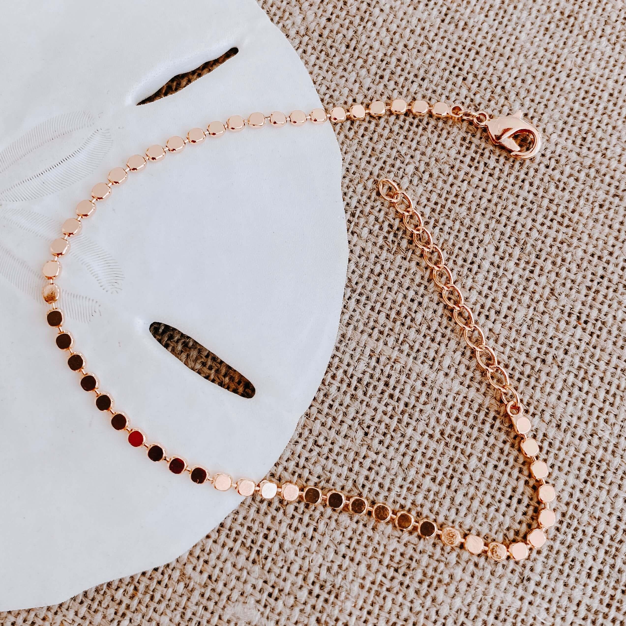 Bracelet Sasha - Bracelet acier femme fin - Cénélia