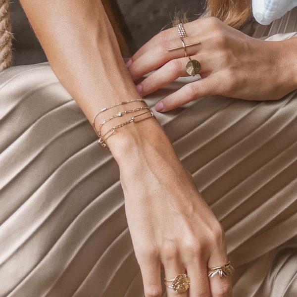 Bracelet femme mode fin - Cénélia
