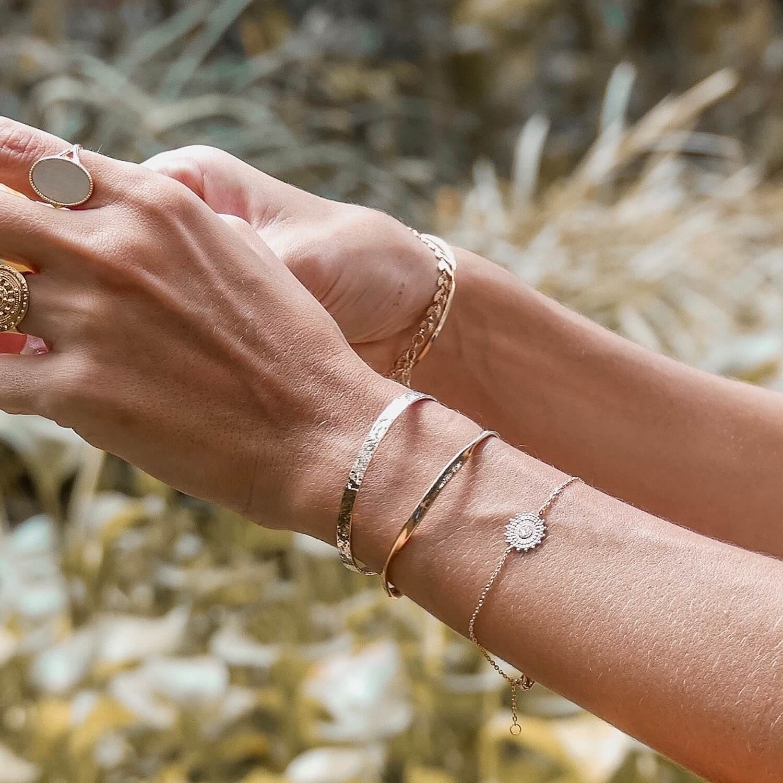 Bracelets Cénélia - jonc Clara