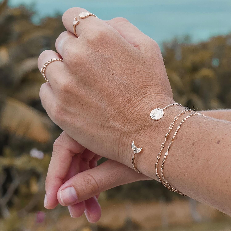 Bracelets femme Cénélia Martinique - Jade - Loane