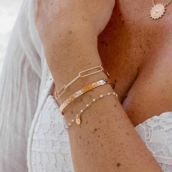 Bracelets femme plaqué or Cénélia - Antilles Martinique