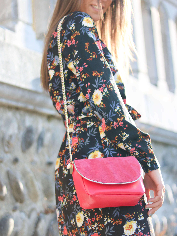 Cénélia - Petit sac en cuir fabriqué en France - Nina