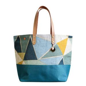 Cénélia - Sac cabas en lin - sac à main personnalisé - Valina