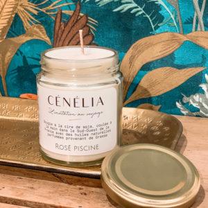 Cénélia - bougie bio soja