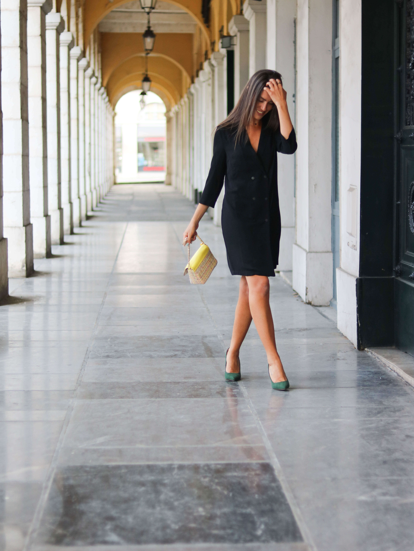 Cénélia - petit sac en tweed et cuir Chloé - sac tendance mode