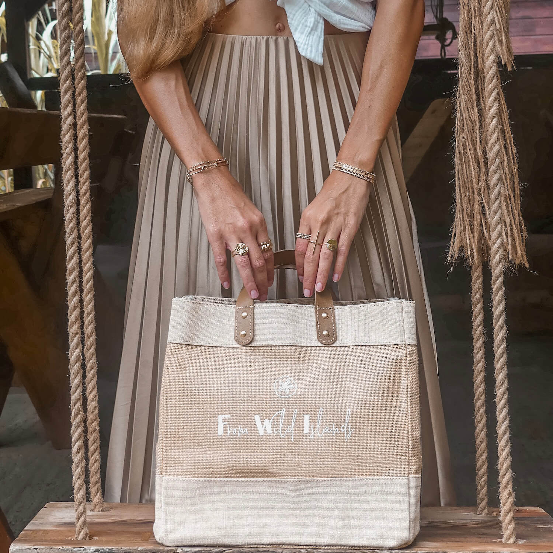 Cabas From Wild Islands - Mini bag FWI - Cénélia