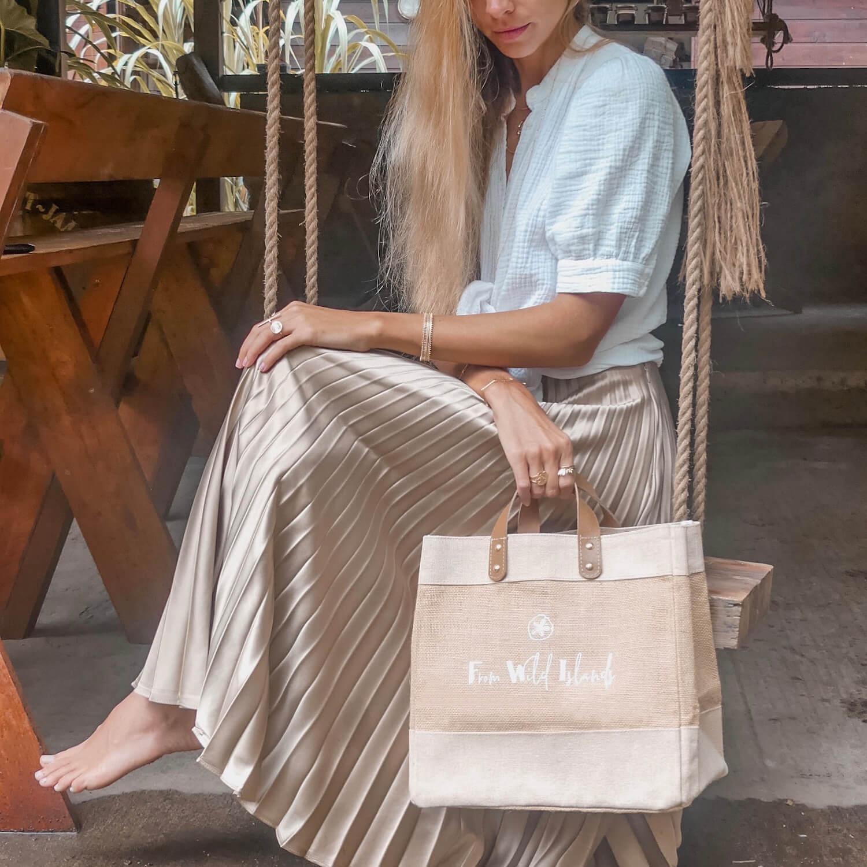Cabas From Wild Islands - Mini bag FWI - Petit sac à main femme Cénélia