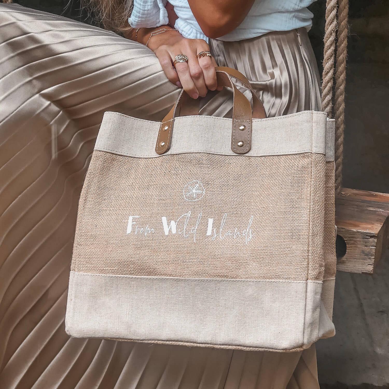 Cabas From Wild Islands - Mini bag FWI - Sac à main mode femme Cénélia