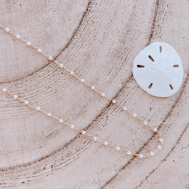 Collier Jana Cénélia - Collier fin petites perles blanches