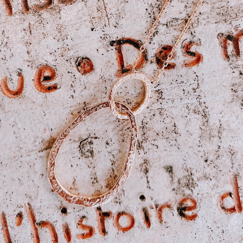 Collier Joséphine plaqué or - Cénélia Martinique