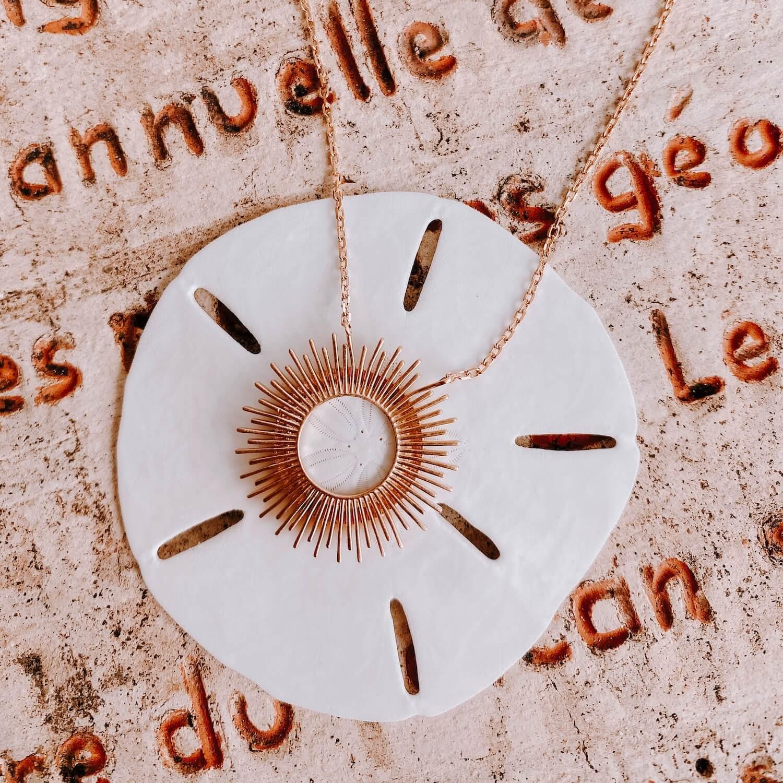 Collier Soley - collier soleil - Cénélia