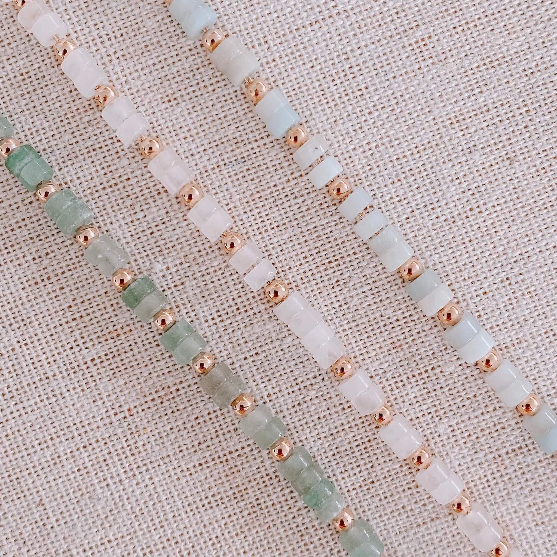 Collier Tania pierres semi précieuses - Bijoux Cénélia