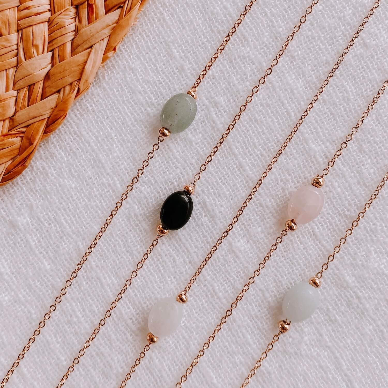 Collier pierre naturelle femme mode Martinique - Emma - Cénélia
