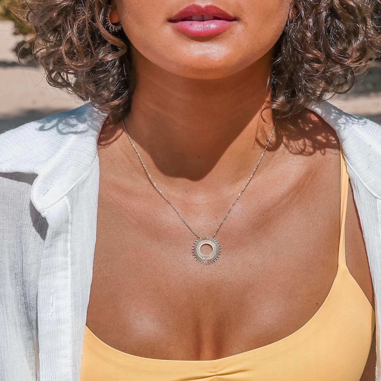 Collier soleil Cénélia - Soley