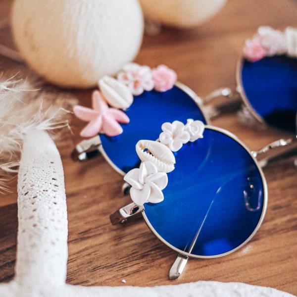 Lunettes de soleil décorées Cénélia - Lunettes polarisées mode Iris