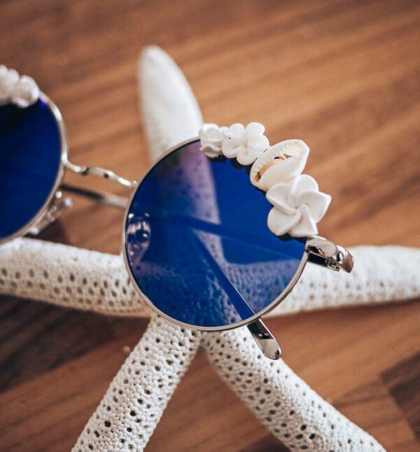 Lunettes de soleil décorées - Solaires femme mode Cénélia - Mode