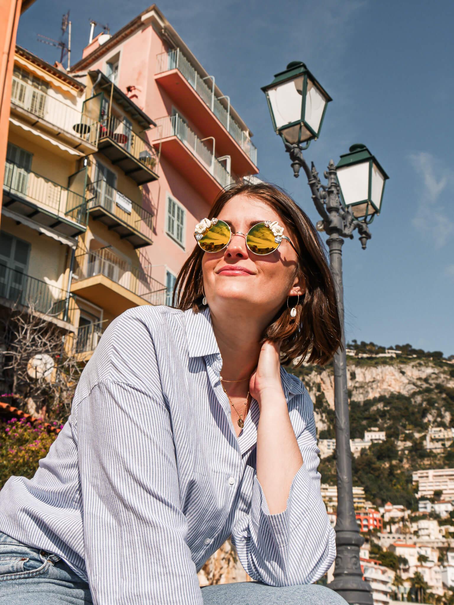 Lunettes de soleil tendance - lunettes rondes femme - Cénélia - Gaëlle