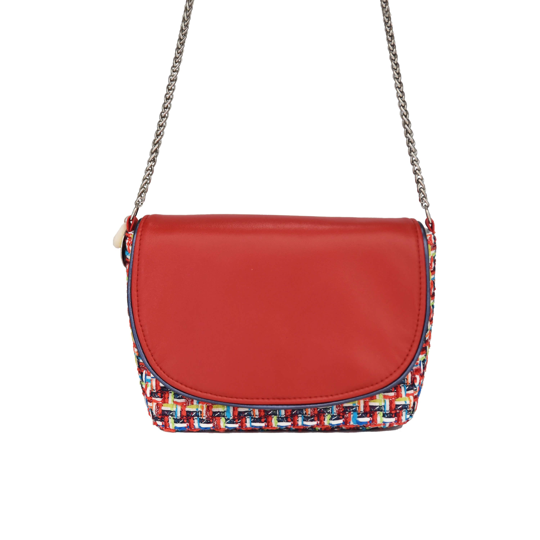 Petit sac Haute Couture - sac bandoulière femme chic - Sarah - Cénélia