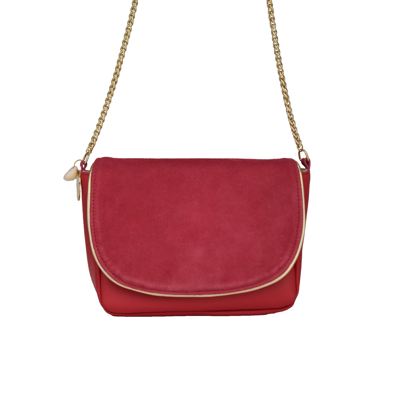 Petit sac en cuir - sac bandoulière femme chic - Nina - Cénélia