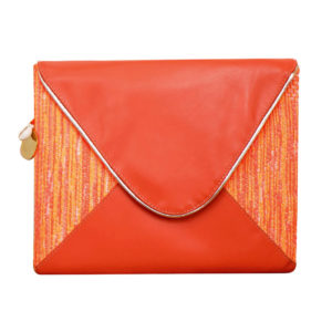 Pochette orange Lucie - Cénélia
