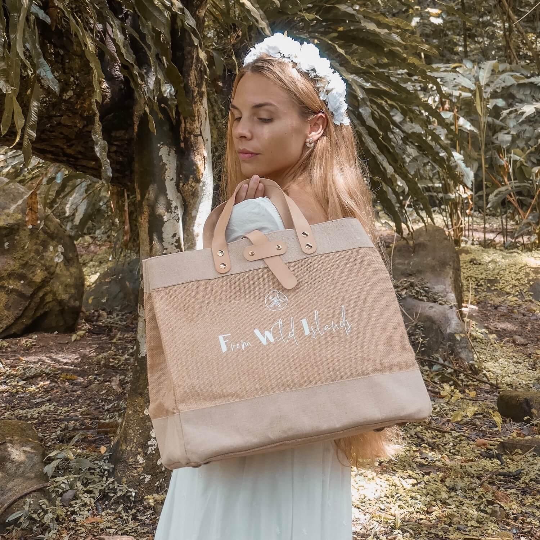 Sac From Wild Islands - Grand cabas FWI - sac femme Cénélia
