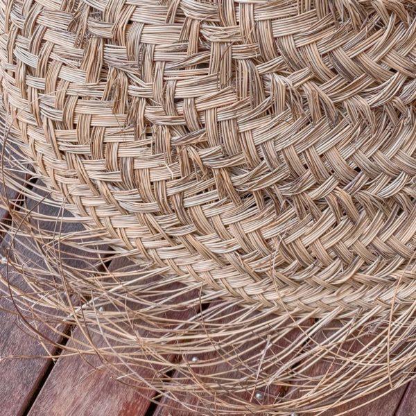 Suspension parasol - luminaire naturel - Boutique de décoration Martinique Cénélia