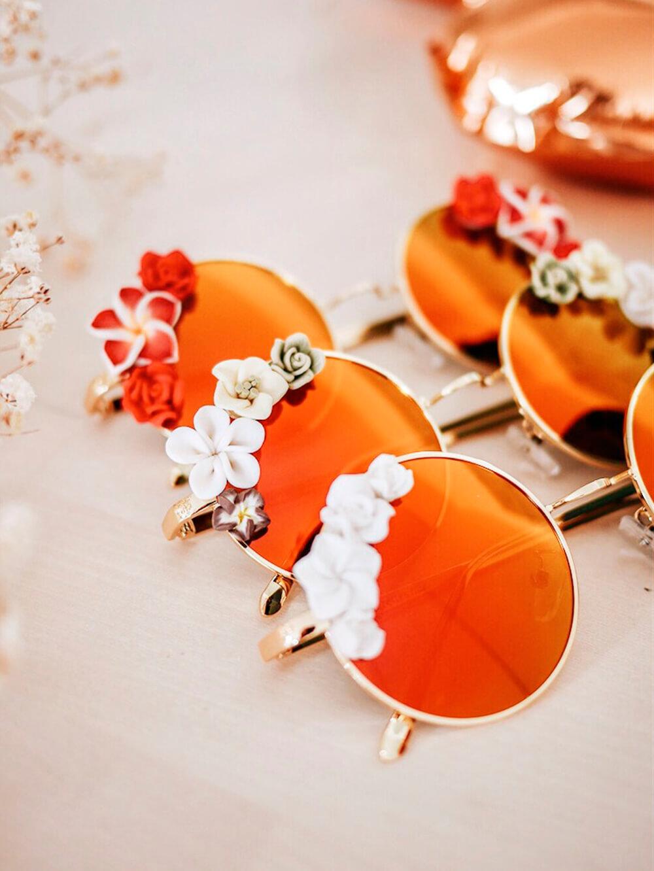 accessoires de mode - lunettes de soleil bohème - lunettes fleuries - Cénélia
