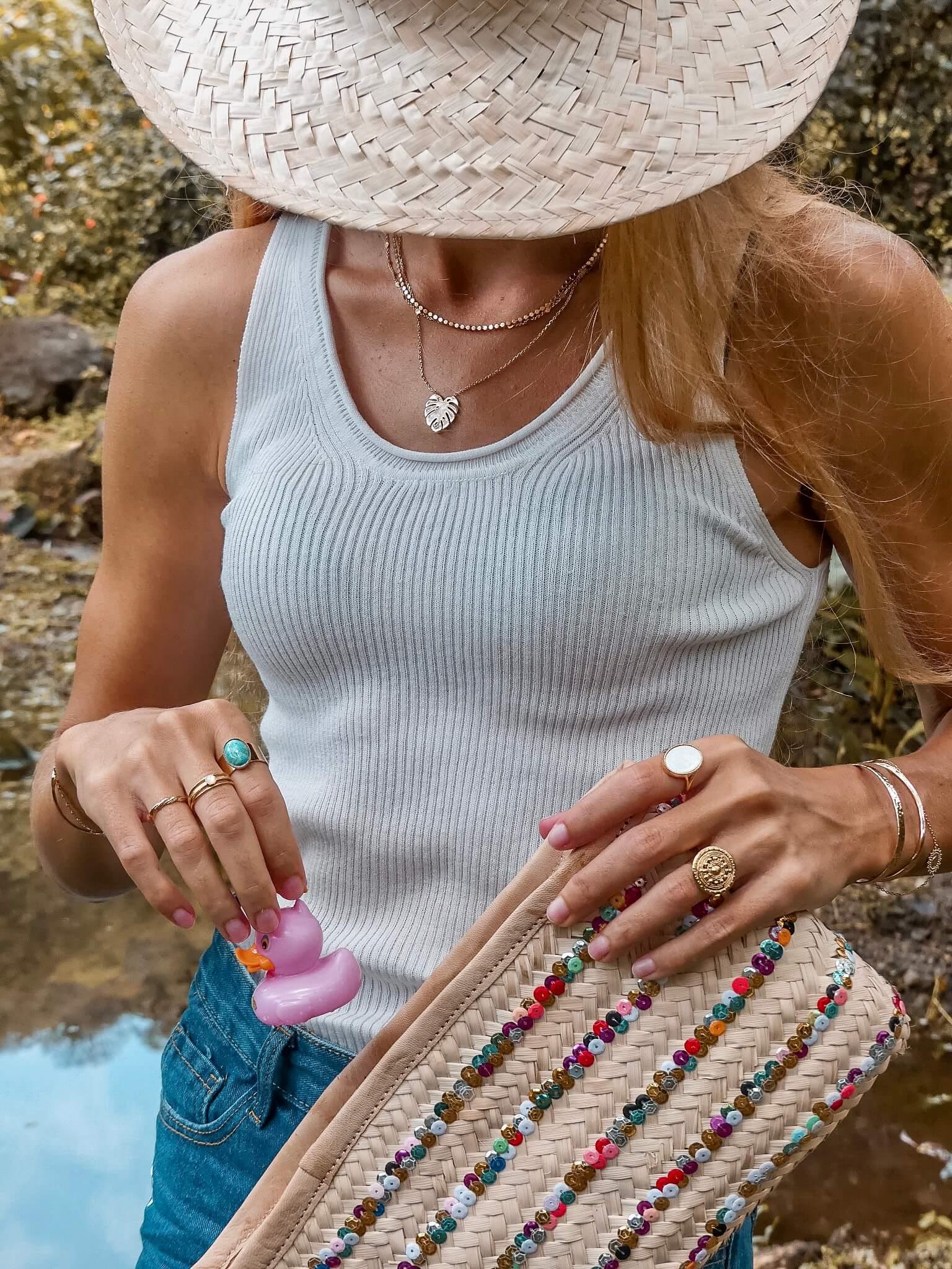 bijoux tendance - bijoux femme plaqué or Martinique - Cénélia