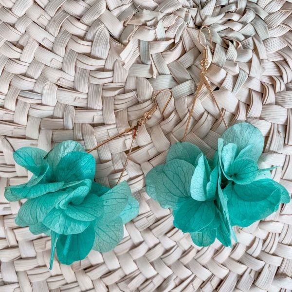 boucles Maracas Bay - boucle d oreille en fleur éternelle cénélia Martinique