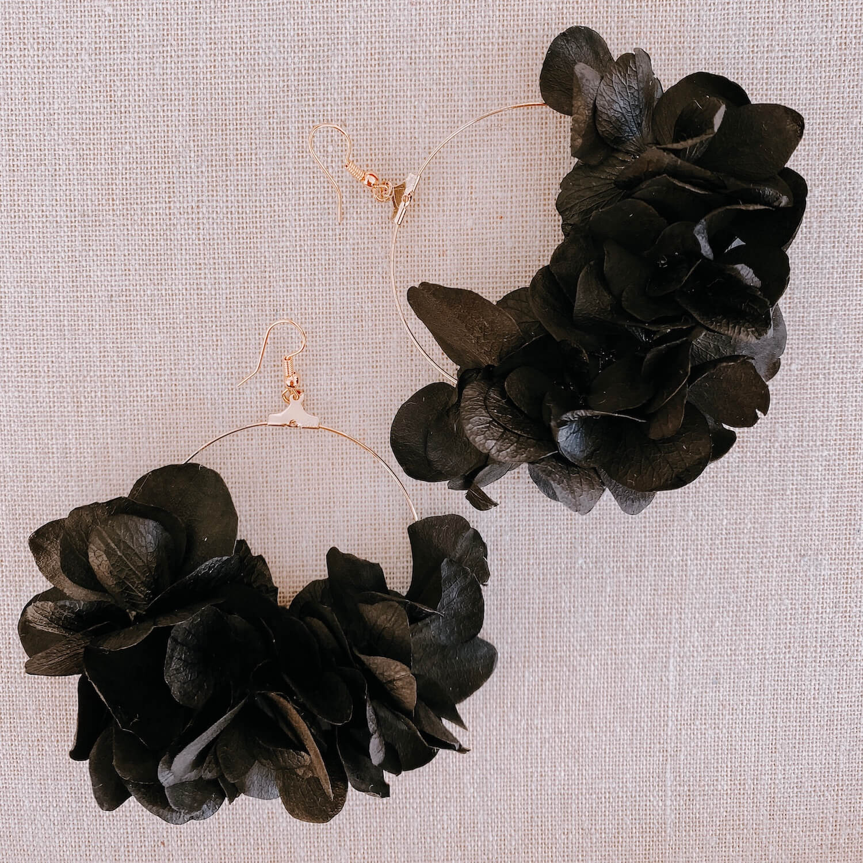 boucles Tobago - boucle d'oreille en fleurs Martinique Cénélia
