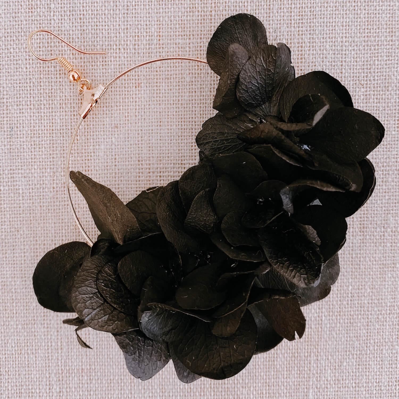 boucles Tobago - boucle d'oreille en fleurs - Martinique Cénélia
