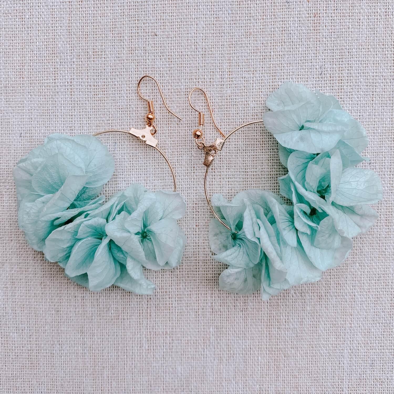 boucles barbade - boucles d oreille à fleurs - Cénélia