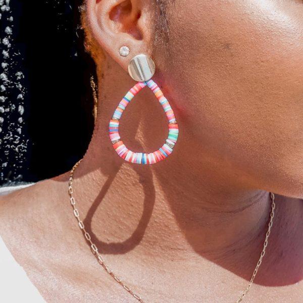 boucles d oreilles Cénélia - Matéa