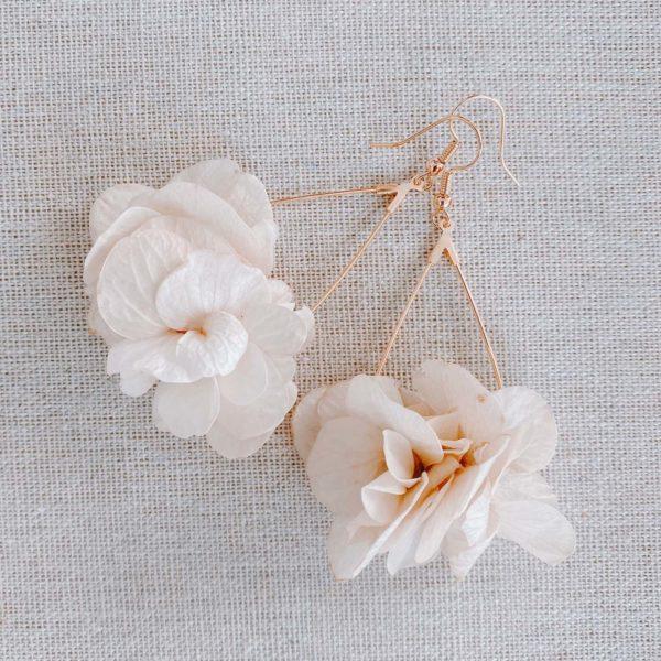 boucles d oreilles fleuries Boca Chica - bijoux Cénélia