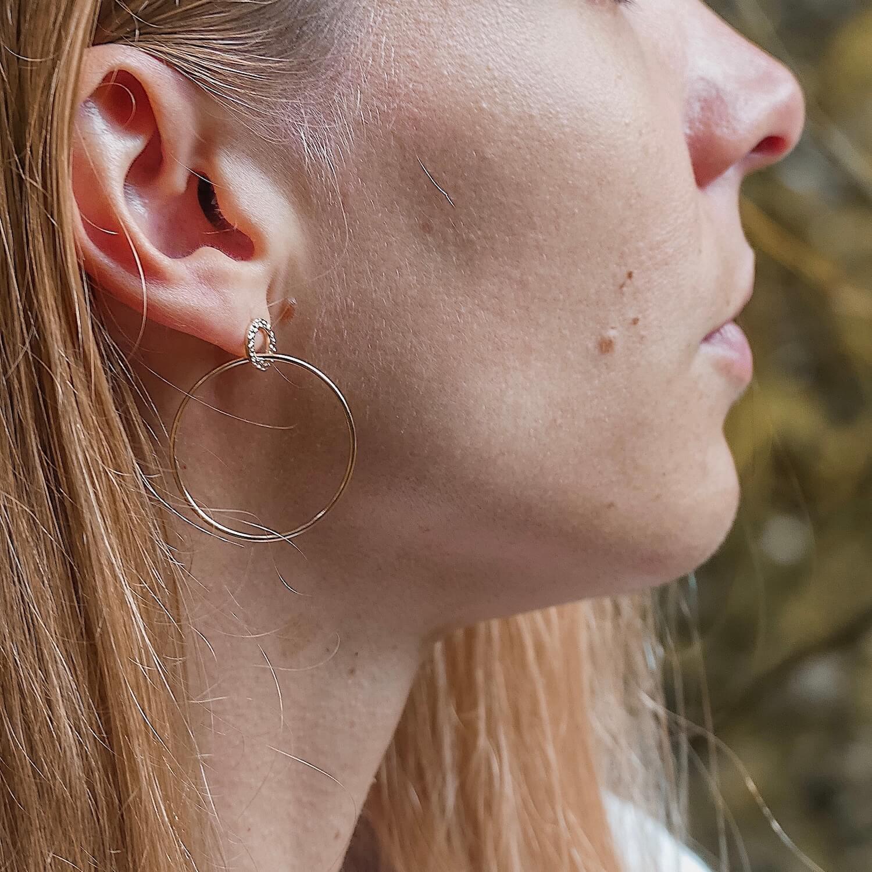 boucles d'oreilles Joséphine - Bijoux Cénélia